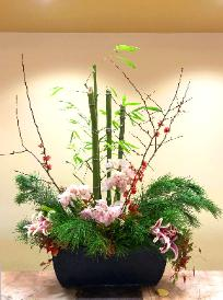 Kadomatsu traditional Japanese New Year